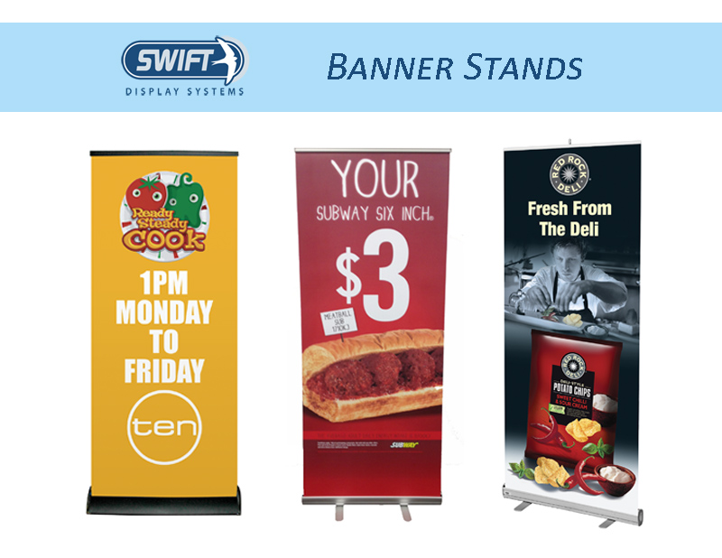 swift display banner stands